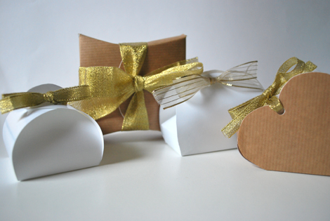 De giftboxen zijn niet heel groot maar best leuk toch? Je kunt er bijvoorbeeld een giftcard in stoppen.